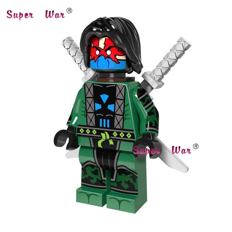 20pcs star wars super hero comics model kits Ghost Maker daredevil building blocks bricks classic learning education baby toy