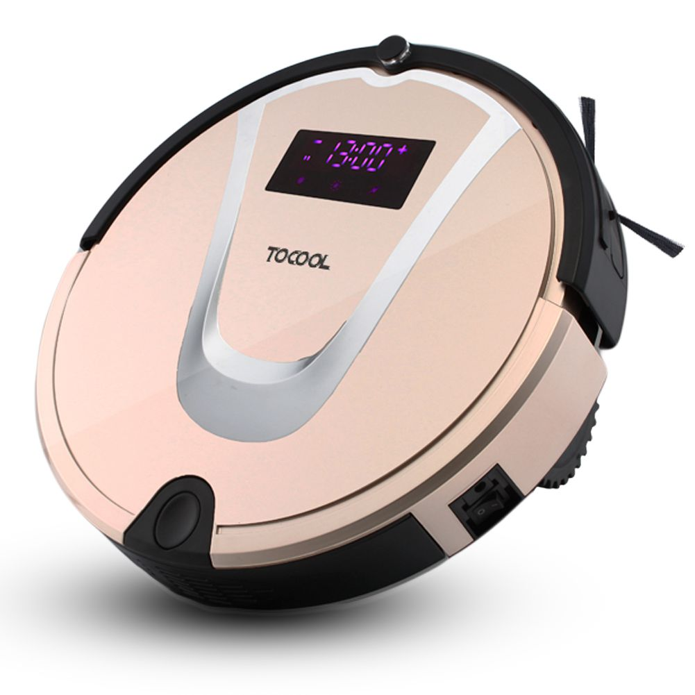 TOCOOL-750 WirelESS Remote Control Smart Robot Vacuum Cleaner Automatic Multi-Functional Sweeping Machine Mopping Machine with 2017 new gift with uv lamp remote control lcd display automatic vacuum cleaner iclebo arte and smart camera baby pet monitor