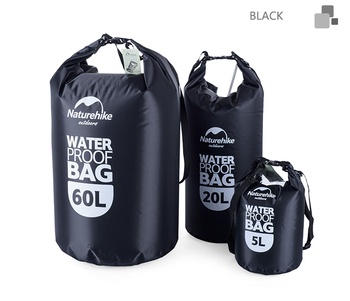 Naturehike 5L 20L 60L Suchy Worek Wodoodporny Worek Do Przechowywania Torby Torba Dla Canoe Kayak Rafting Sport Na Świeżym Powietrzu Zestaw Podróżny Wyposażenie