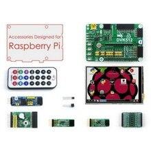 "Raspberry Pi Accessories 3.5"" Raspberry-pi LCD Screen + Raspberry-pi Expansion Board + Modules Development Kit for All pis"