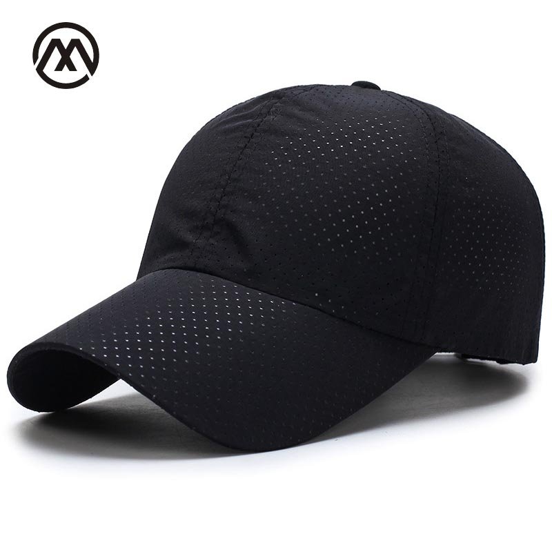 Breathable Baseball Cap Quick Dry Cap For Women Men Mesh Dad Hat Sunscreen Snapback Hat Hip Hop Sports Golf Cap Breathable Bone ming dynasty emperor s hat imitate earthed emperor wanli gold mesh hat groom wedding hair tiaras for men 3 colors