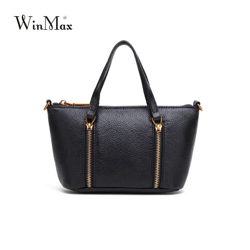New Arrival 2017 Genuine Leather Bags Women Vintage hobo Cow Leather Handbag Ladies Solid Casual Small Crossbody Shoulder Bag genuine leather women fashion handbag vintage pattern small size ladies handbag chain shoulder bag crossbody round handle