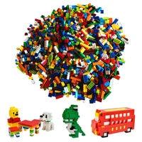 1000pcs Classic Building Bricks Set DIY Toys For Children Educational Building Blocks Bulk Bricks Compatible With