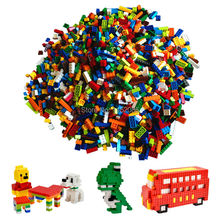 1000pcs Classic Building Bricks Set DIY font b Toys b font for Children Educational Building Blocks