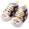 Cute Cartoon Baby Boy Girl Canvas Shoes Soft Cozy Anti-slip Shoes for babies Winter