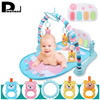 Newborn Infant Baby Game Bed Baby Toddler Crib Crawling Activity Gym Multi Function Soft Mat Music