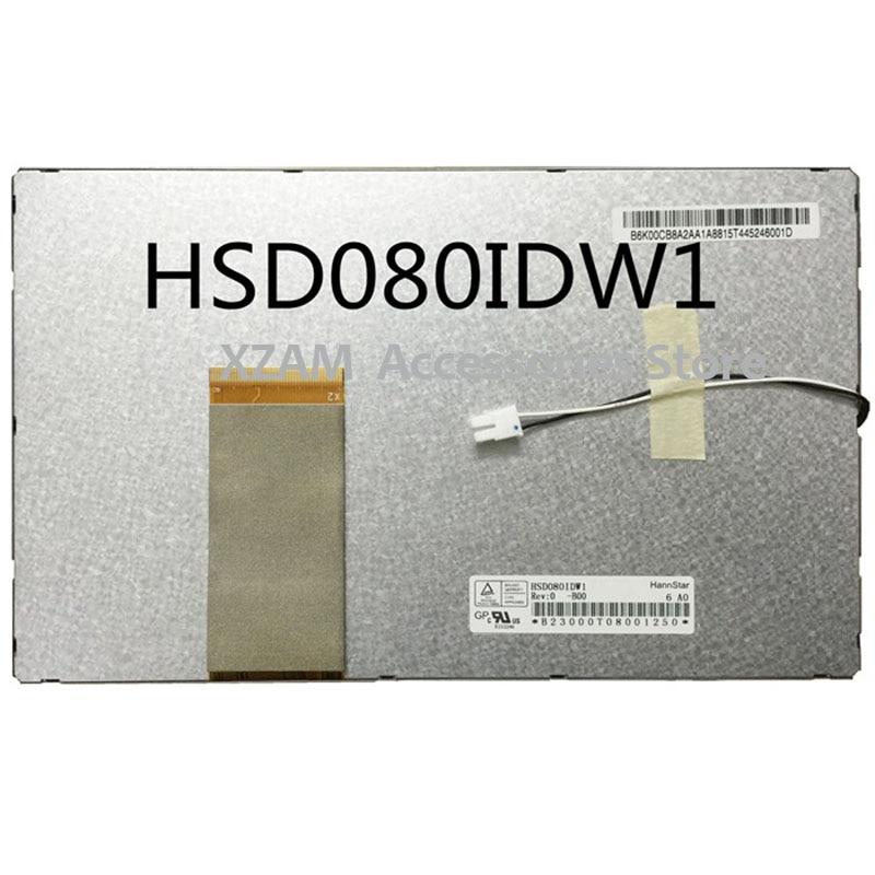 Original e novo hannstar tela lcd de 8 polegadas HSD080IDW1-C01 para tablet pc