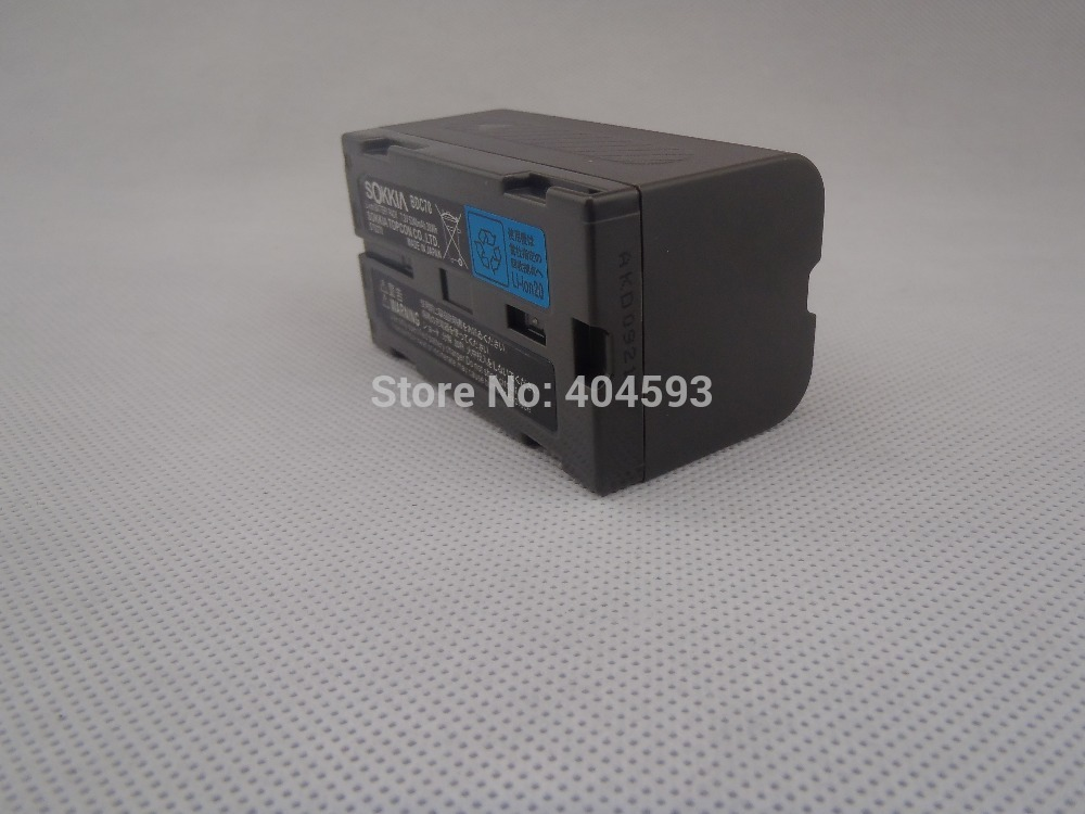 Samsung battery core SOKKIA / TOPCON BDC70 Li-ion battery 7.2V 5240mAh FOR Total Station / GPS bdc58 bdc 58 7 4v 5200aah li ion battery for sokkia total station and gps