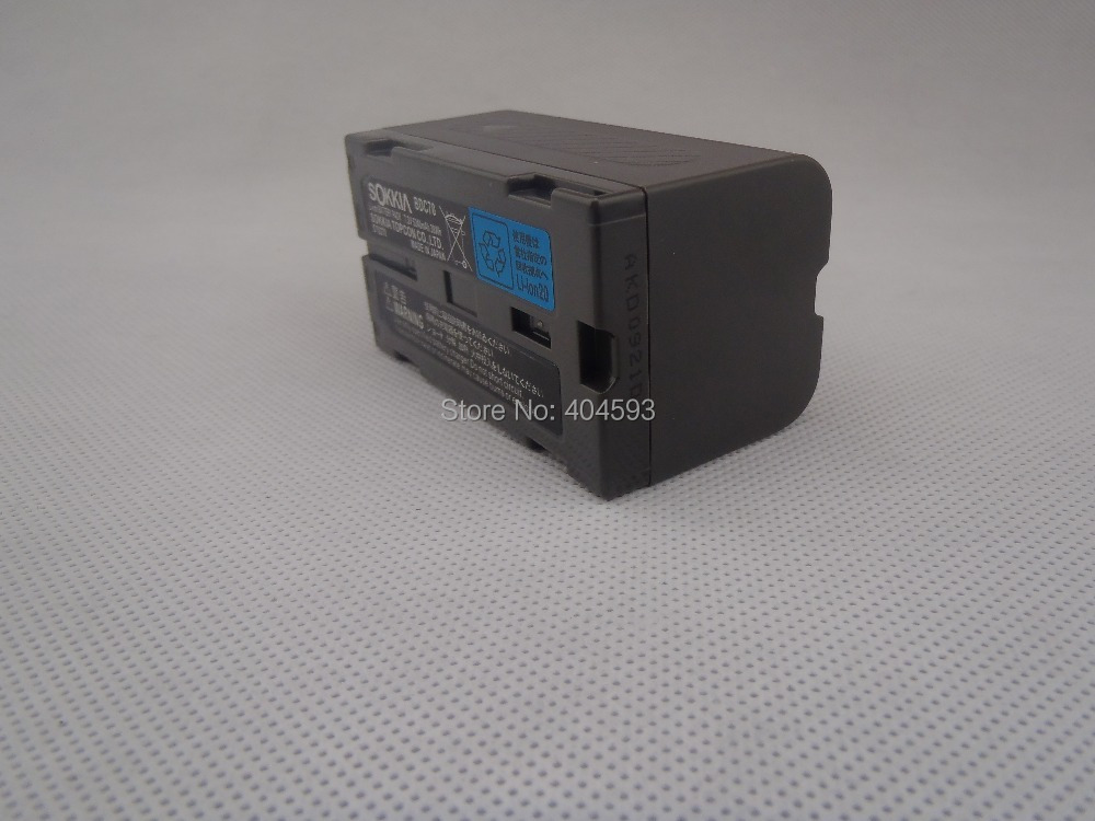 Samsung núcleo bateria SOKKIA / TOPCON BDC70 Li ion bateria 7.2 V 5240 mAh para estação Total / GPS
