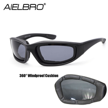 AIELBRO Tactical Hiking Glasses Military Goggles Army Sunglasses Airsoft Paintball Men Hunting Shooting Eyewear Gafas