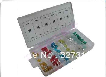 120pcs MINI Blade Fuse Assortment kit Auto Car Motorcycle FUSES new original 800a 690v 170m5264 semiconductor fuse electrical fuse types safety fuses
