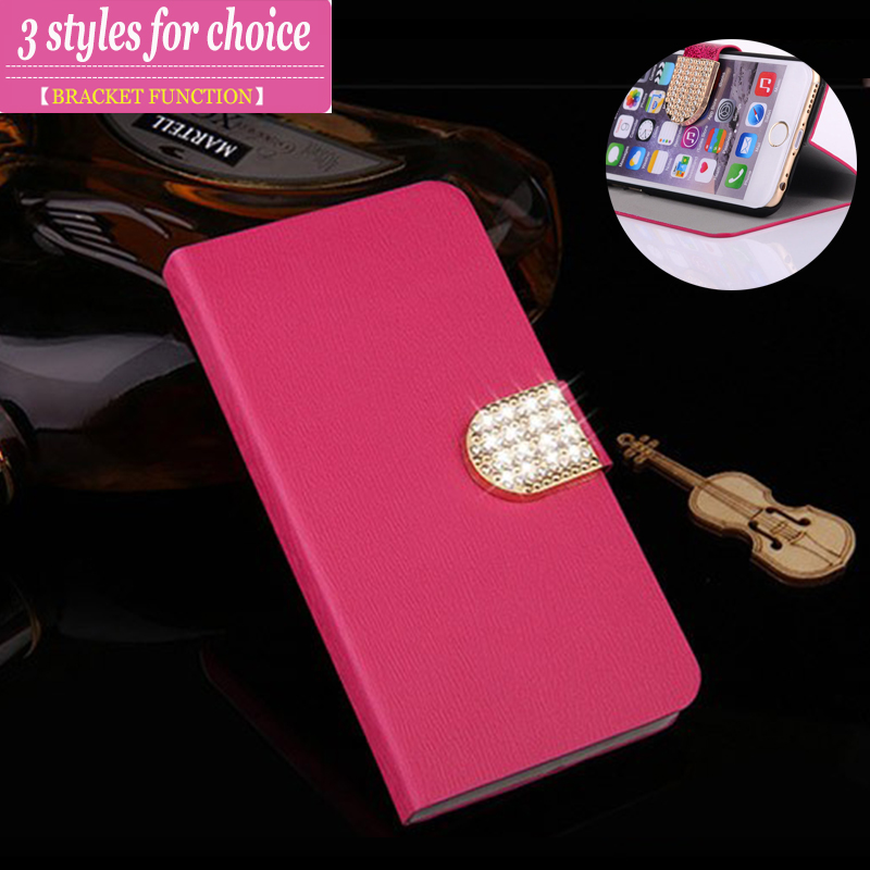 (3 Types) For Fly IQ4416 case cover Flip Wallet leather case for Fly IQ4416 ERA Life 5 case cover For Fly IQ4416 Stand Cover