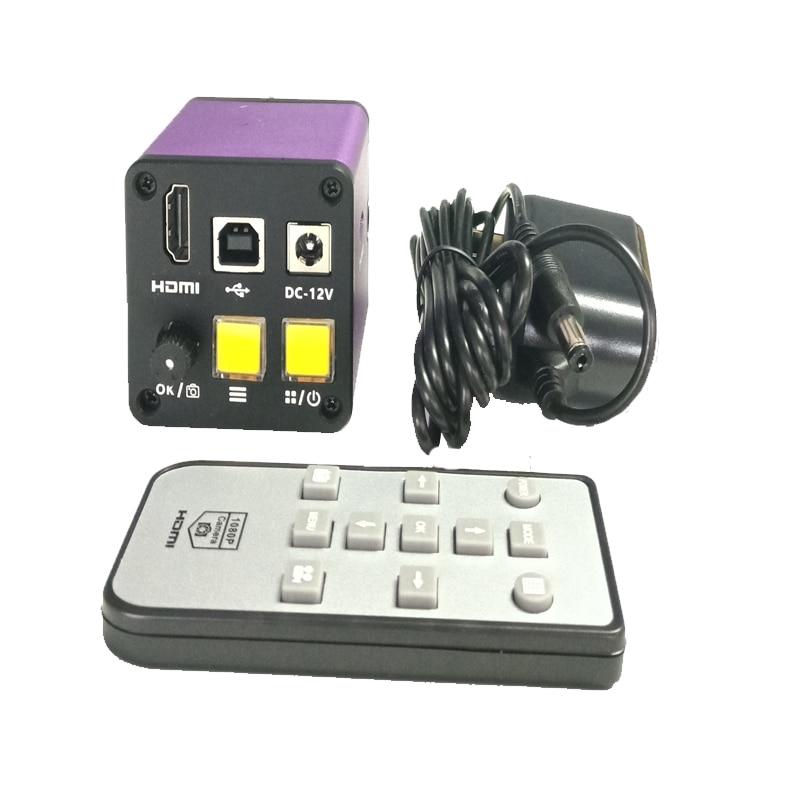 2018 цифровой промышленный видео 16MP HDMI USB микроскоп камера TF карта видео рекордер для сотового телефона ювелирные изделия Часы Ремонт
