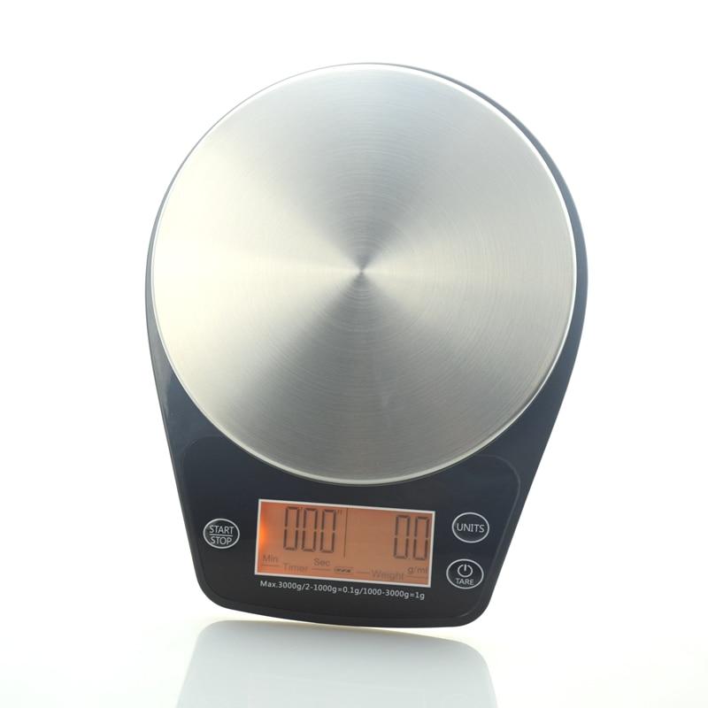Ecocoffee Mini Macchina Per Bilancia con Timer Digitale 0.1-3000g ...