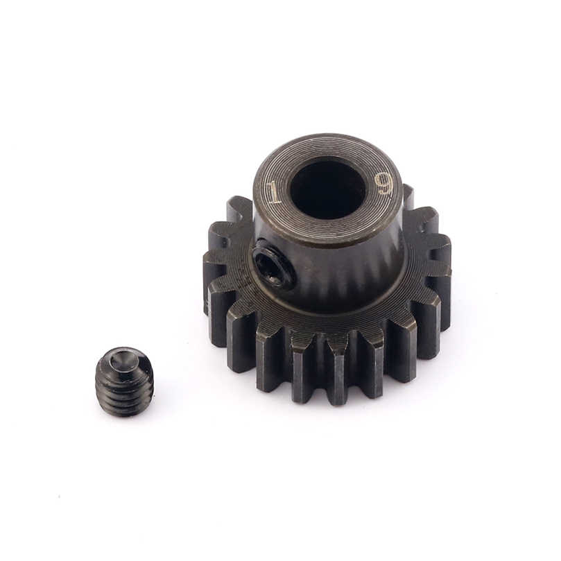 Hobbywing RC Borstelloze Motor Gear M1 13T 15T 32P 0.8M 15T 17T 19T 5mm Shaft Steel Pinion Voor 1/8 Auto Motoren