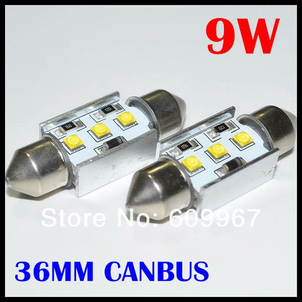 New design Festoon led canbus 36mm 9W c5w CREE chips XBD LED dome light  Interior Bulbs Reading Light Car Light Sourse 2pcs festoon led 36mm 39mm 41mm canbus auto led lamp 12v festoon dome light led car dome reading lights c5w led canbus 36mm 39mm