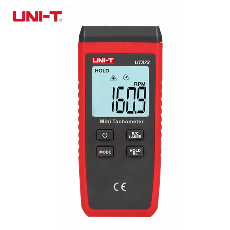 UNI-T UT373 Mini Digital Non-contact Tachometer Laser RPM Meter Speed Measuring Instruments Auto Range uni t ut372 non contact laser tachometer with measuring range 10 to 99 999 rpm