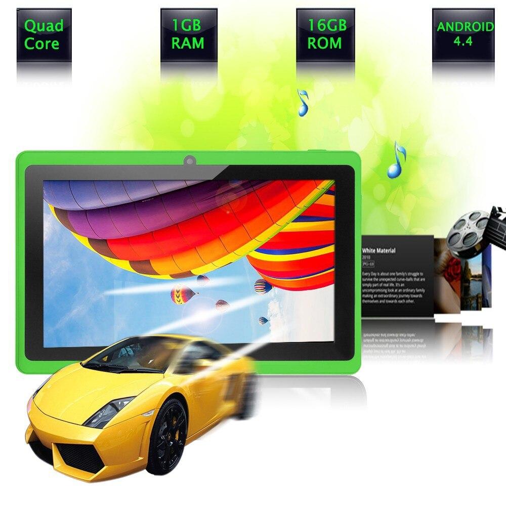 2018 New 7 inch Tablet Pc Dual Camera WiFi Bluetooth 8GB ROM Dual cam Mini pc