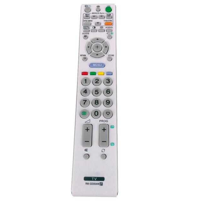 חדש שלט רחוק RM GD004W עבור Sony LCD טלוויזיה BRAVIA HDTV KDL 37S4000 KDL 32S4000 KDL 20S4000 KDL 26S4000