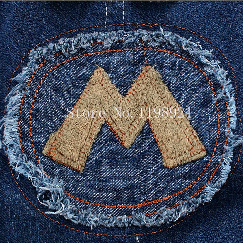 Kids Jeans Overall (2)