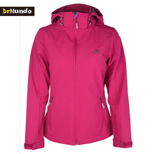 DrMundo soft shell jacket women fleece Winter hiking waterproof jacket windproof outdoor clothing camping jacket classic coat