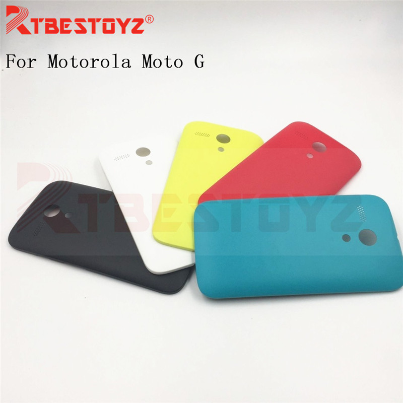 RTBESTOYZ Back Cover For Motorola Moto G XT1031 XT1032 XT1033 Protective Phone Case Fundas Battery Cover Case Back Housing