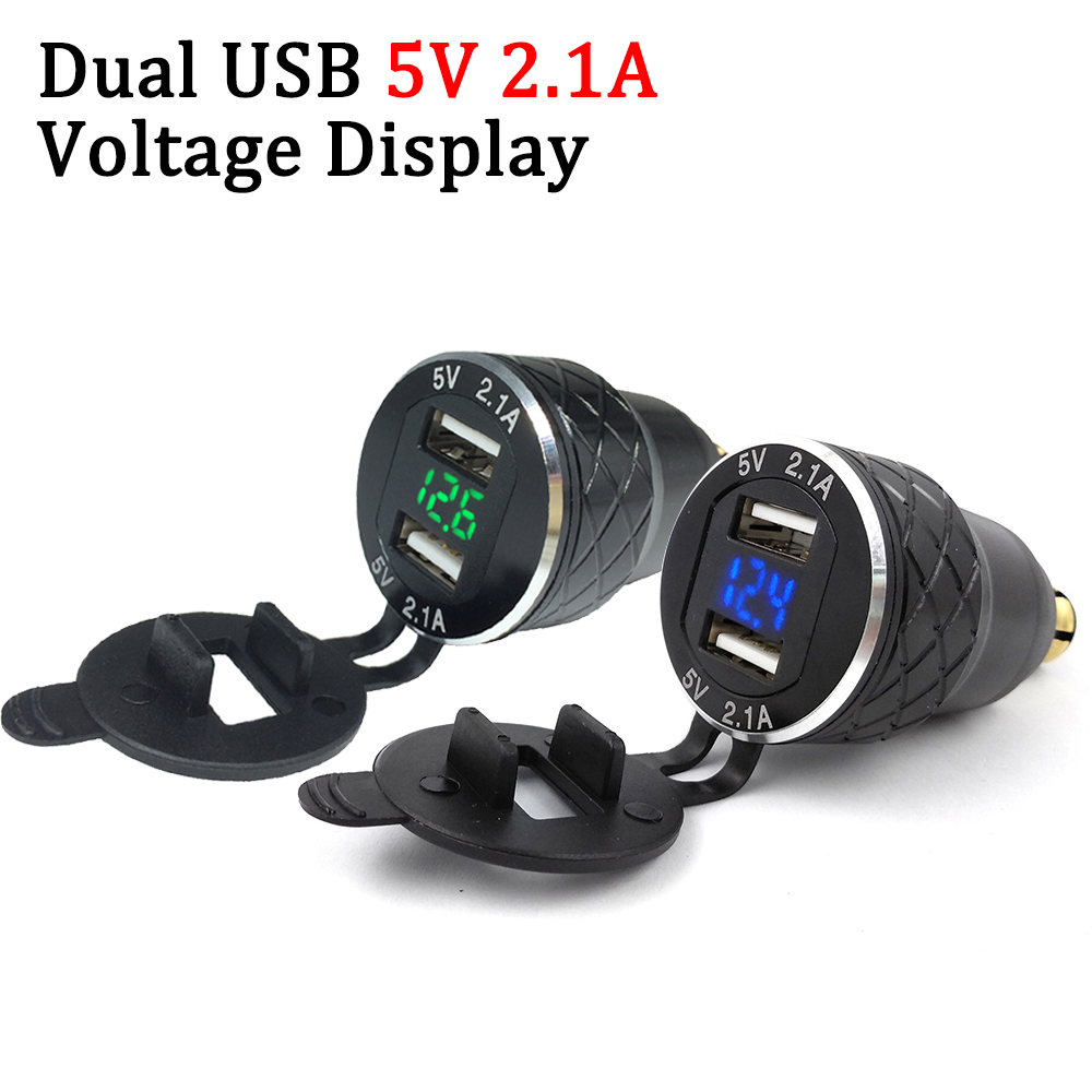 Usb-Power-Adapter Moto-Charger Hella iPhone Socket-Plug-Cover Dual 5V for BMW Hella/motorcycle