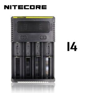 """Image 3 - Nitecore i8 חדש i4 i2 Intelligent מטען 8 חריצים סה""""כ 4A פלט חכם מטען עבור ליתיום 18650 16340 10440 AA AAA 14500 26650"""