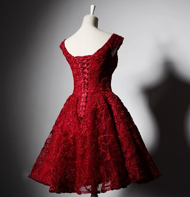 Online Shop Red Short Homecoming Dresses Cocktail 8th Grade Prom