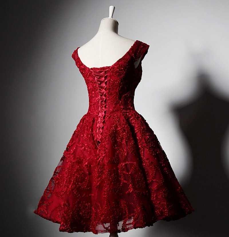 3967384022e ... Red Short Homecoming Dresses Cocktail 8th Grade Prom Dresses Semi Formal  Dress vestidos curto para formatura ...