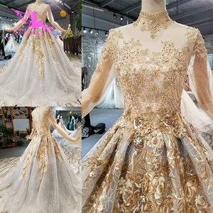 Image 2 - Aijingyu vestido de casamento muçulmano de manga longa onde comprar para vestidos de roupas de gordura trem mulher 2021 2020 incrível vestidos de casamento