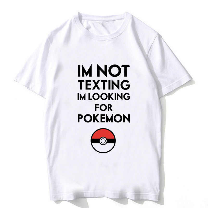 0fc45112 Fashion 2018 Anime Pokemon GO Plus Pikachu T Shirt Men Pokemon Gengar  Clothing Funny Pokemon Go