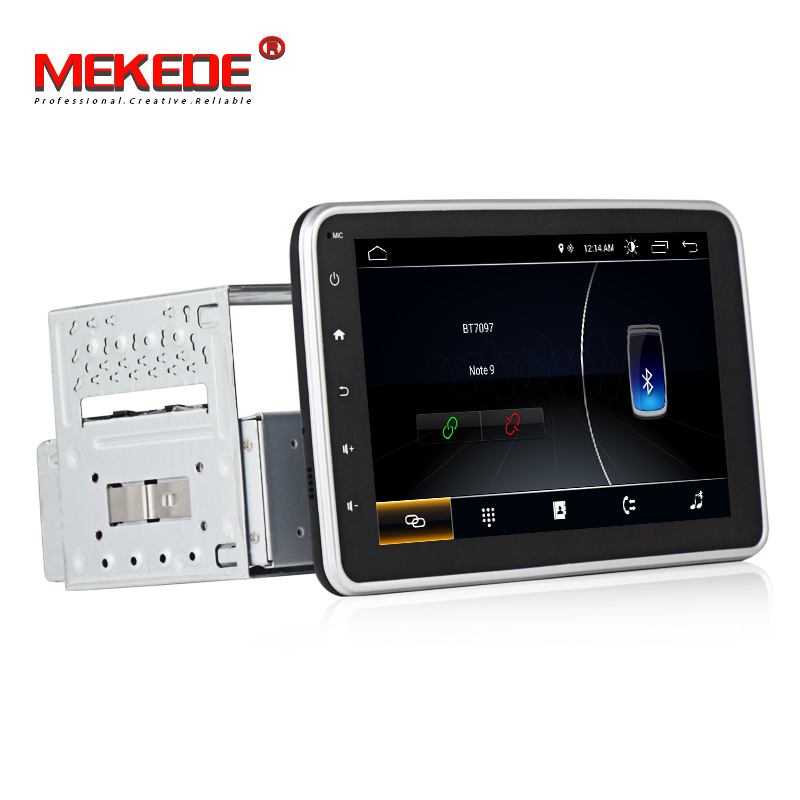 Lecteur DVD de voiture universel HD 1din Android 8 ''GPS Navigation voiture stéréo Bluetooth Radio lecteur Audio FM voiture lecteur multimédia