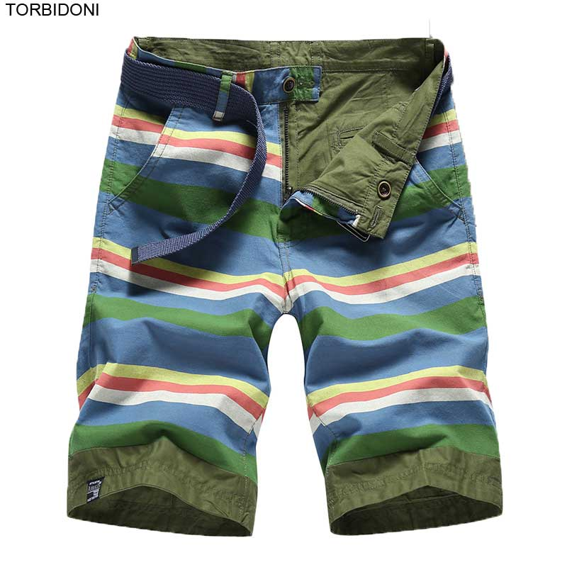 Men Patchwork Cargo Shorts Loose Fit Reversible Bermuda Masculina Cargo Military Short Pants Fashion Bermuda Youth Summer Shorts