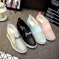 2016 Dropship mulheres sapatos ao ar livre sapatos de primavera verão outono sapatos balanço de couro femininos de alta qualidade