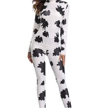 a422c6808d Sexy Halloween cowgirl Print Catsuit Party Fancy Dress Jumpsuit playsuit  SM1844