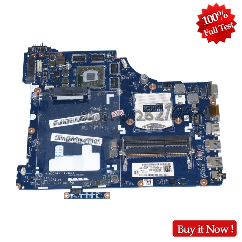 NOKOTION Laptop Motherboard For Lenovo ideapad G510 MAIN BOARD VIWGQ LA-9641P HM86 DDR3L R7 M265 graphics la 9642p for lenovo ideapad g510 laptop motherboard 90003691 ddr3l free shipping 100% test ok