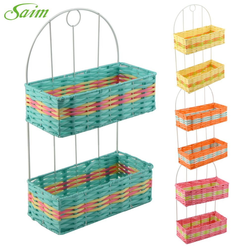Hand Woven Sundry Baskets Preparation Of Storage Baskets Home Storage  Organization Woven Straw Basket(China