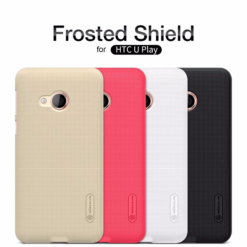 for HTC U Play Coque Nillkin Super Frosted Shield Ultra-Thin Matte Capa Hard Back PC Cover Case for HTC U Play Nilkin Phone Case
