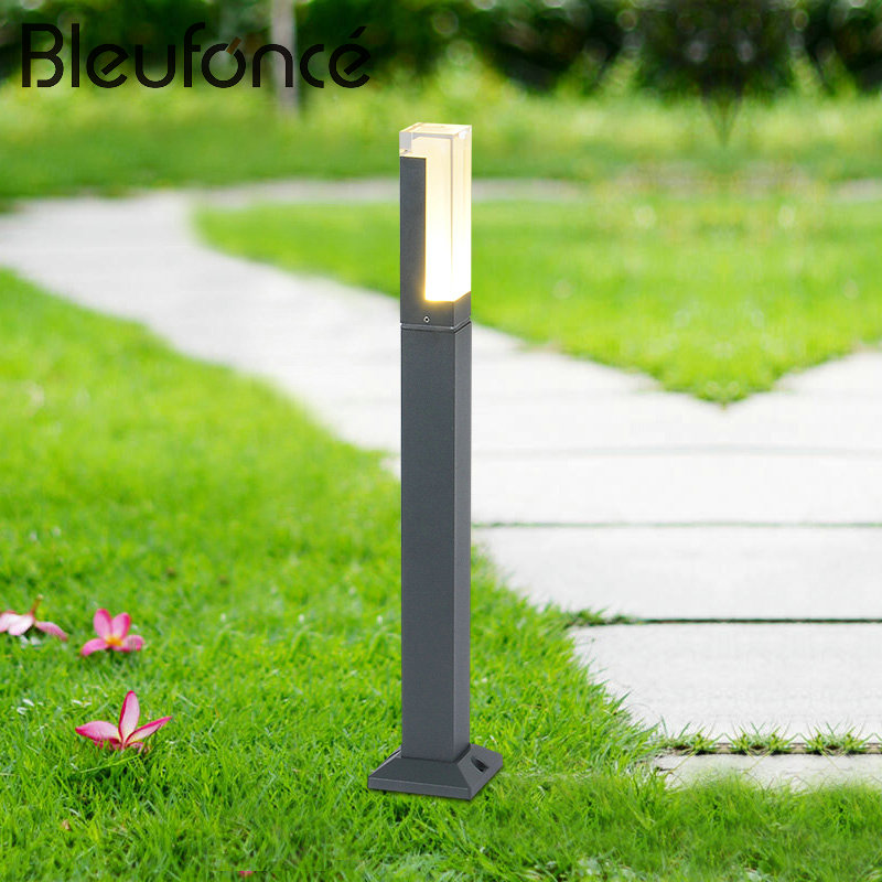 LED Lawn Lamp Floor Lamp Outdoor Waterproof Outdoor Lighting Landscape Garden Park Community Villa Garden Lights Lawn Lamp BL107 in garden мармелад 10