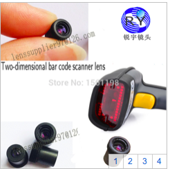 two-dimensional bar code laser scanner can also be used on M6.5 portable scanners, 50-500mm without distortion. 2017 one dimensional two dimensional code wireless scanner with storage function mobile phones tablet computer screen scan