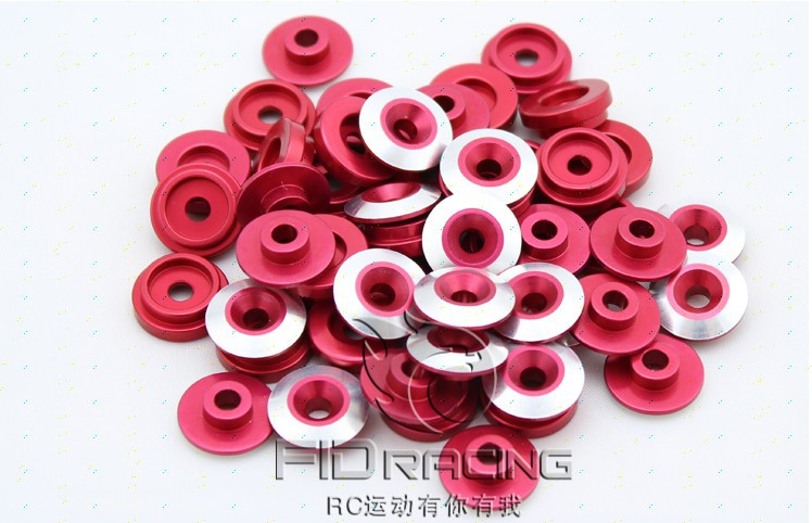 fid body cover fix nut screw FOR LOSI 5IVE-T 52pcs billet rear hub carriers for losi 5ive t