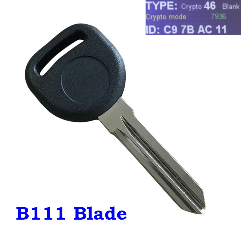 2 New Replacement Transponder Ignition Key Uncut Blade Blank For Circle Plus Key