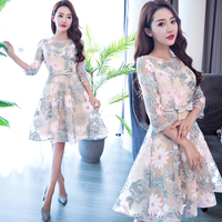 Sweet young lady racking pattern Cocktail Dress lace up prom gown graduation dresses 2019 homecoming dresses vestido de noiva