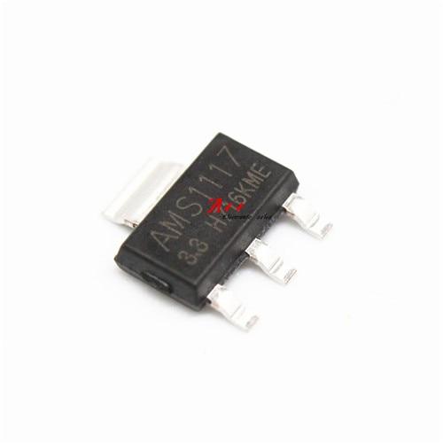 10pcs AMS1117 3.3 AMS1117 LM1117 1117 3.3V 1A Voltage Regulator|Integrated Circuits|   - AliExpress