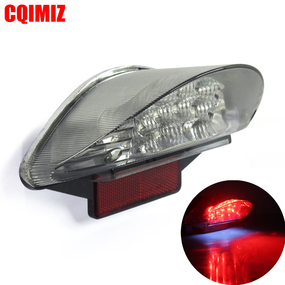 Motorcycle LED Brake Stop Tail Light For BMW R1200GS ADV F650GS F650ST F800S F800ST Taillight