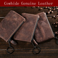 Genuine Leather Coin Purse Slim Mini Wallet Men Women Small Change Bags Cards Key Holder Pouch Coin Purses Wallets