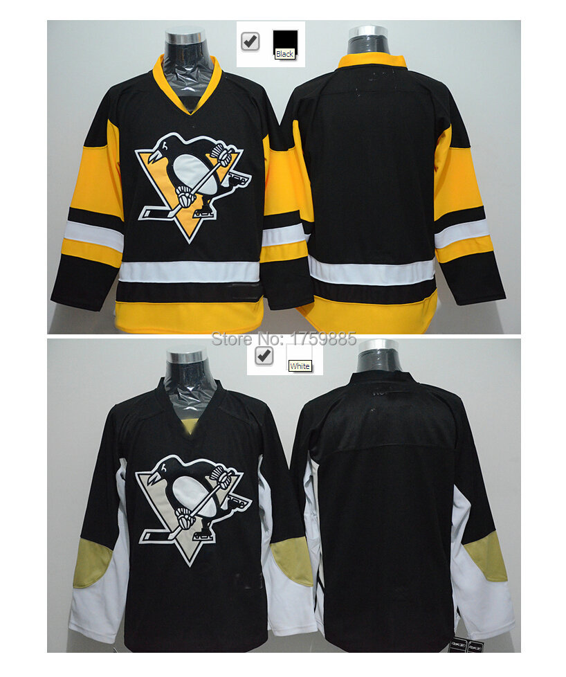 best loved 74124 bd318 2016 New Arrival Pittsburgh Penguins Blank Jersey With No ...