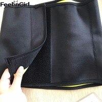 FeelinGirl 3C Hot Neoprene Slimming Belt Waist Shaper Burn Belly Fat Body Shapers Waist Trainer Slim