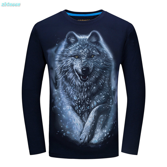 1cf0ced98 Boys Shirts with Long Sleeves 2017 Plus Sizes Cotton Slim 3D Snow ...